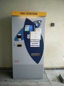 Pay Station outside